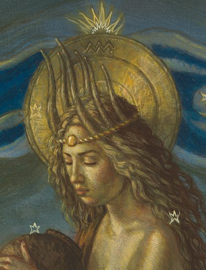 Aquarius by Jake Baddeley - detail
